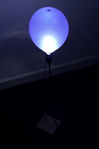 BalloonLamp blue by Philipp_Wand
